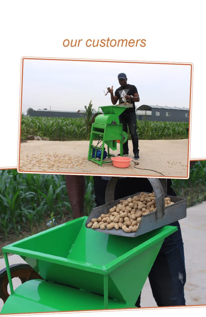 Customer Feedback of Peanut Shelling Machine