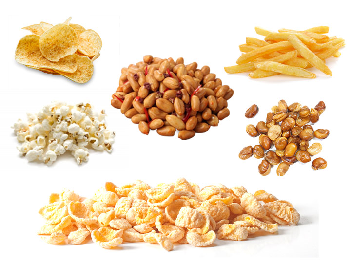 Automatic Fried Food Flavoring Machine Application