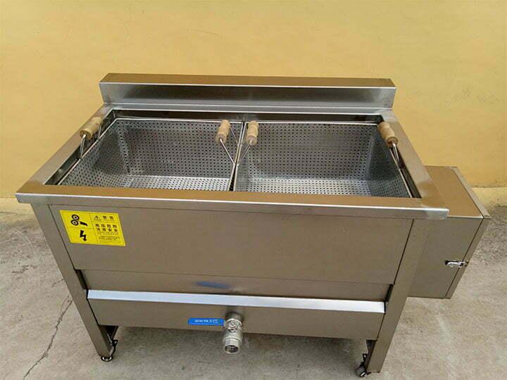 2-basket batch fryer