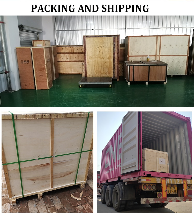 Shipping & Delievery of Packaging Machinery