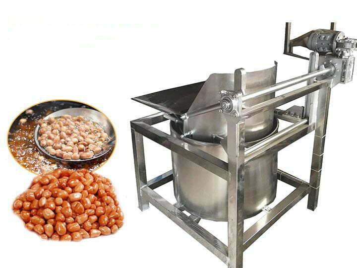 automatic discharge de-oil machine