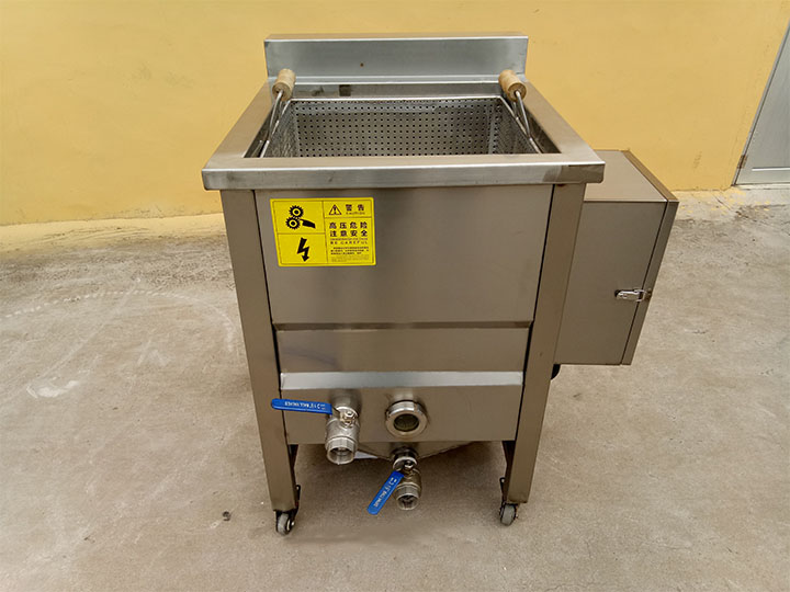 1-basket automatic snack fryer machine