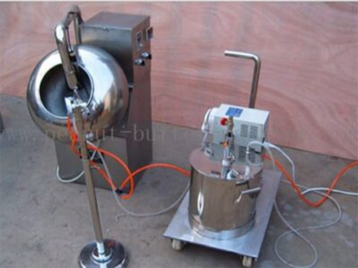 coated peanut making machine
