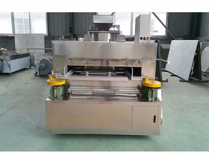 coated peanut roaster machine