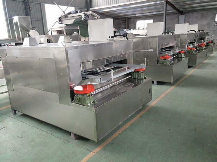 coated peanut roasters in factory