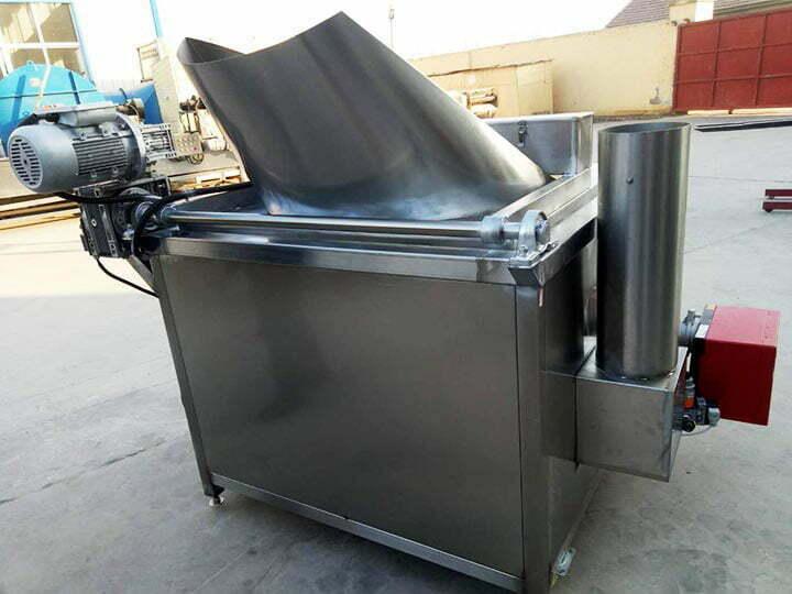 semi-automatic batch fryer