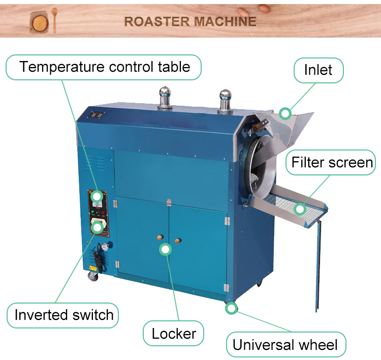 industrial peanut butter roaster