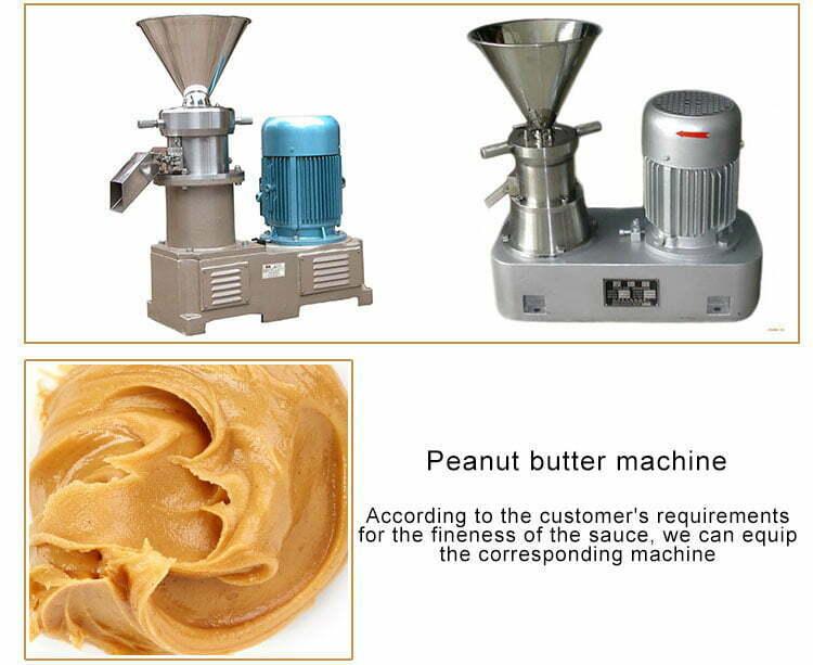 peanut butter colloid mill