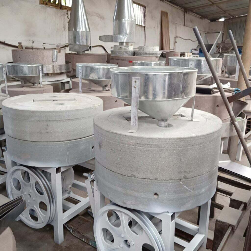 peanut buter stone mill