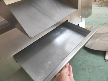 collection tray