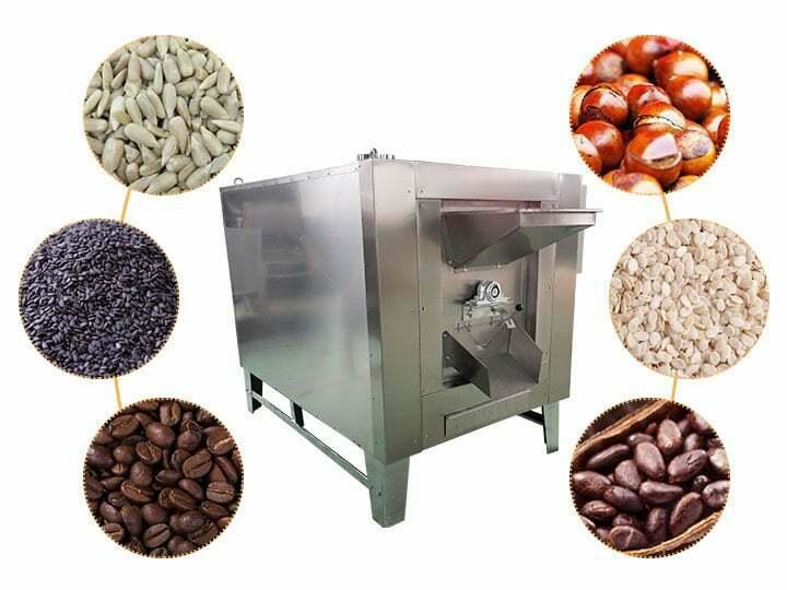 peanut roasting machinery