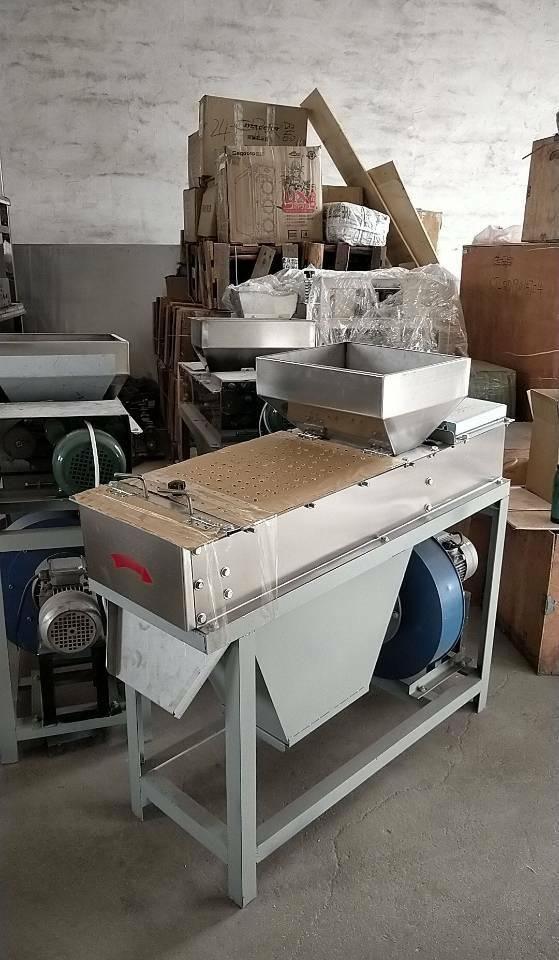 dry type peeling machine