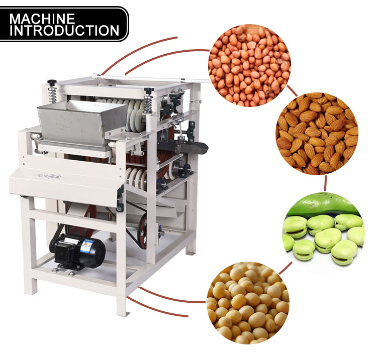 Roasted Wet Peanut Peeling Machine