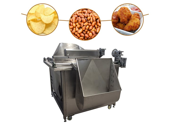 Tipping Bucket Frying Machine