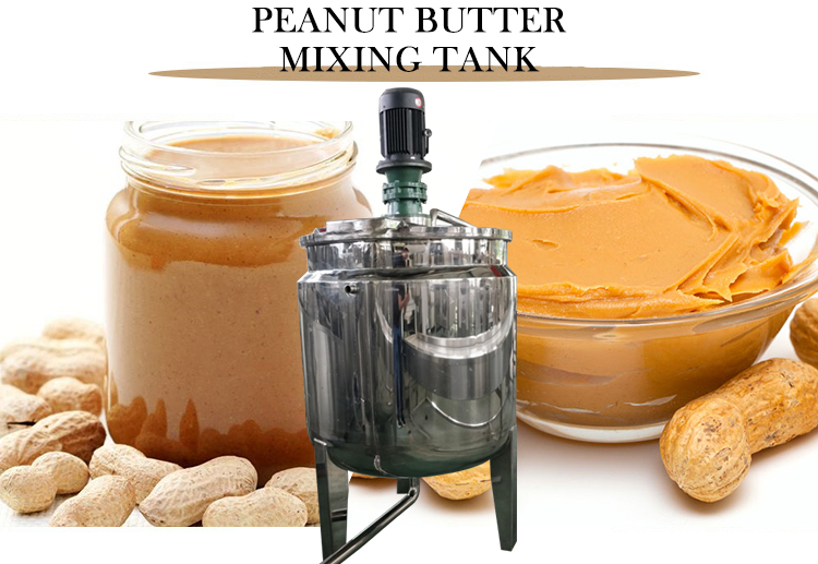 peanut butter mixing tank