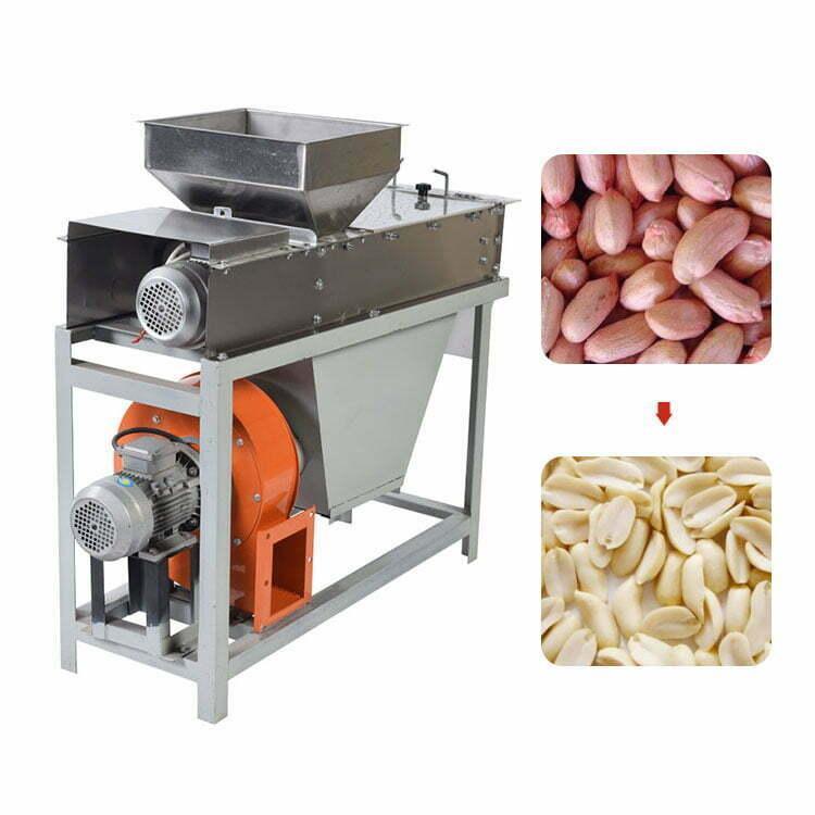 Dry Peanut Red Coat Skin Removing Machine
