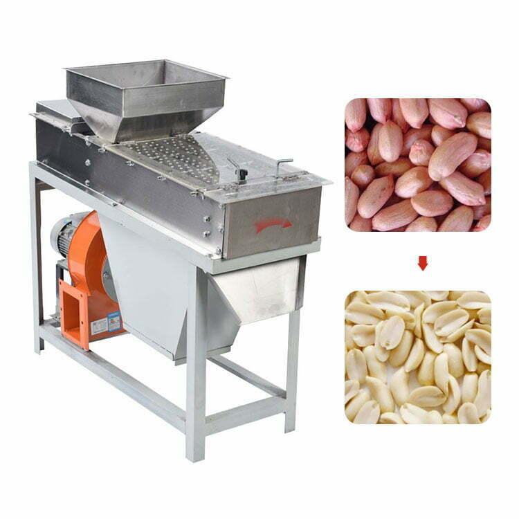 Automatic Roasted Peanut Skin Peeling Machine