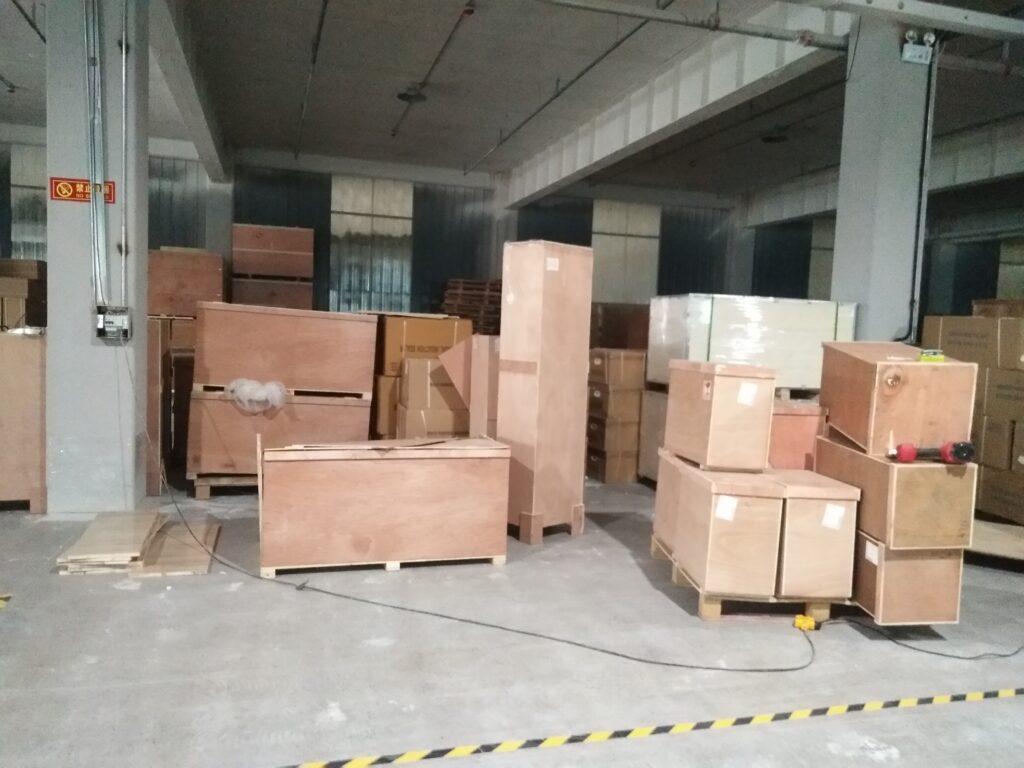 Package & Delivery of Peanut Peeling Machine