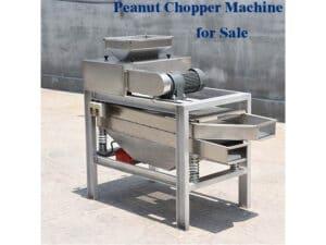 Peanut chopper machine for sale