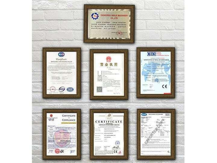 Taizy company certifications