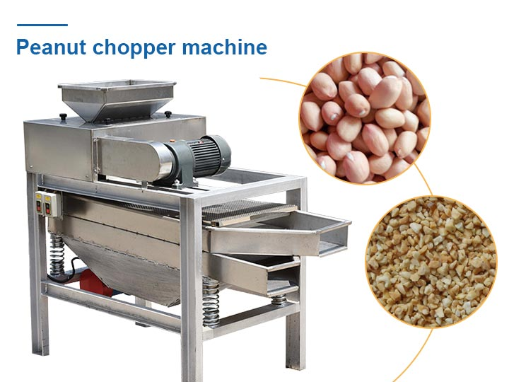peanut cutter machine