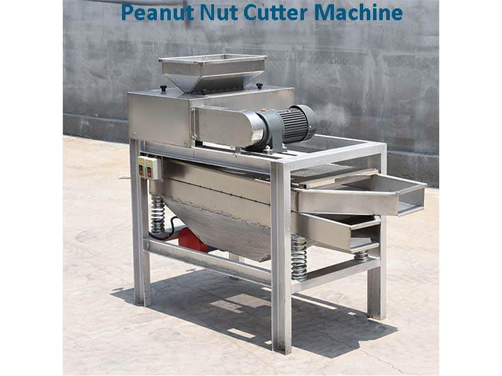 peanut nut cutter machine