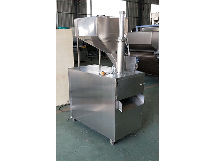 Stainless steel almond slicing machine
