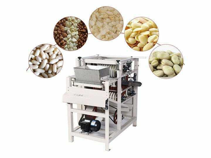 Wet chana chickpea Peeling Machine
