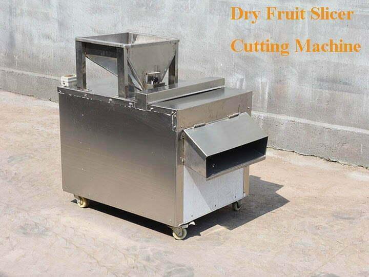 dry fruit slicer cutting machine