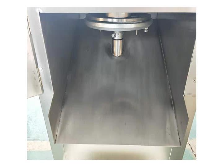 nut slicer machine detail