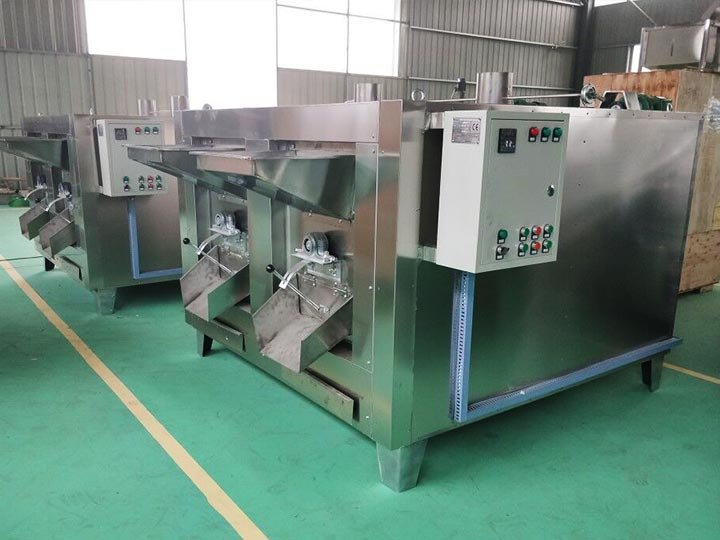 bean and nut roaster machines