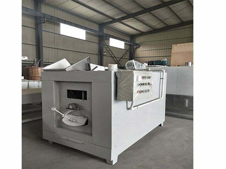 cacao roasting machine
