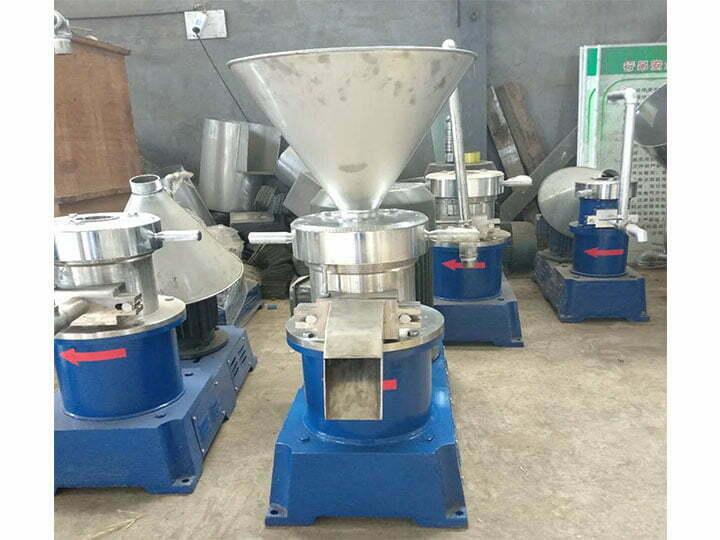 chili paste grinder machine
