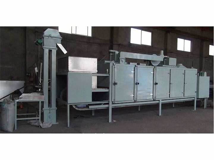 continuous-peanut-roasting-machine