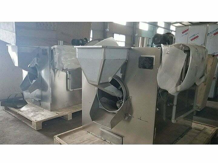 roasters in packaging in factory
