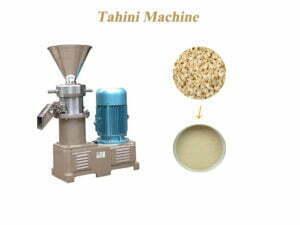 tahini machine