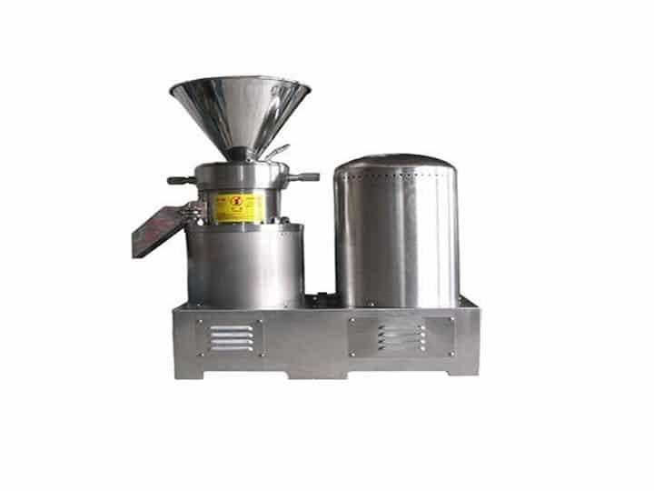 Cocoa nibs grinding machine