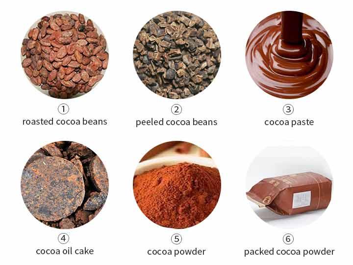 Cocoa powder manufacturing process 1