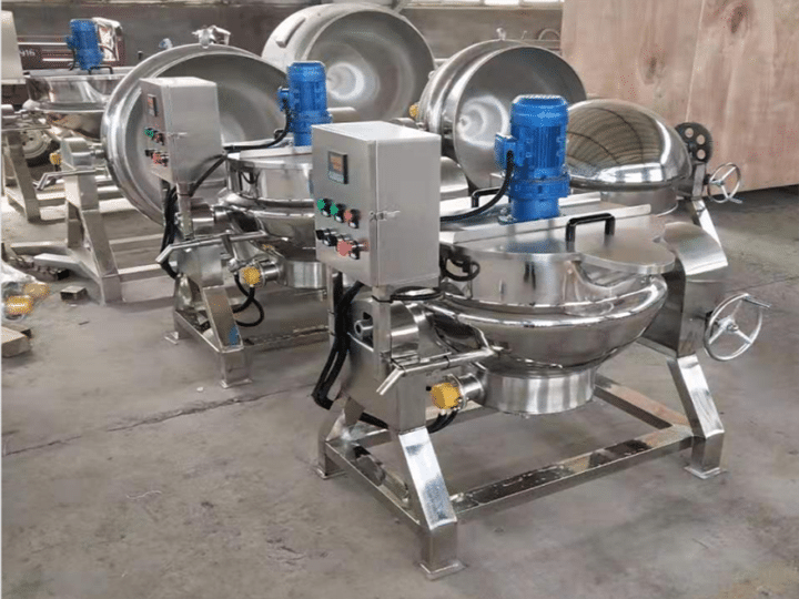Steam-jacketed kettles in stock