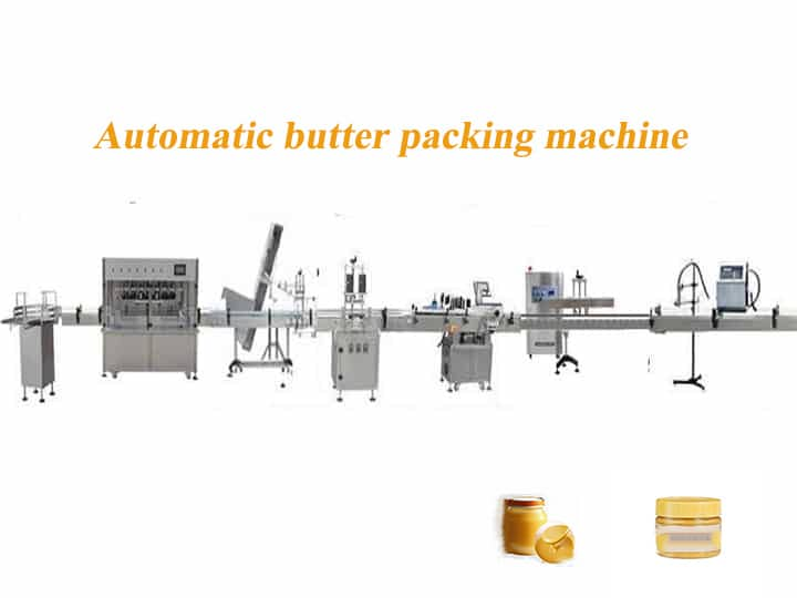 automatic-butter packing-machine