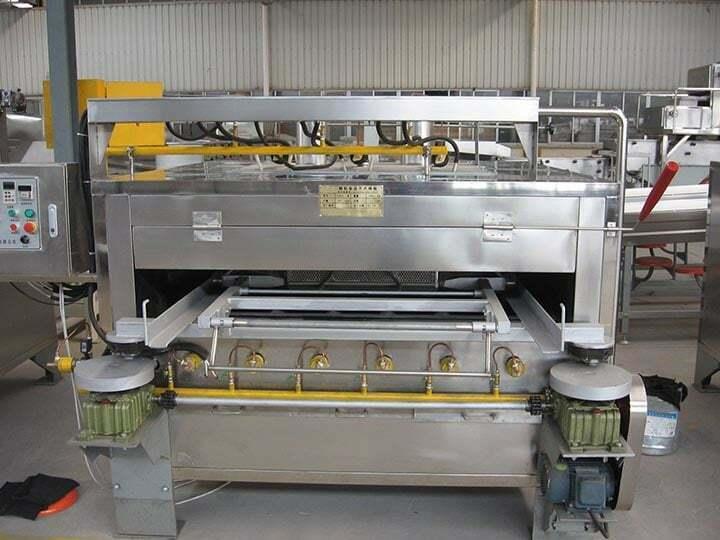 coated peanut roasting machine (swing oven)