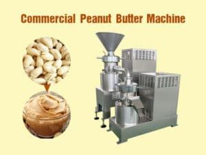 commercial peanut butter machine