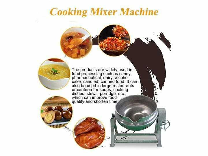 cooking mixer machine manufacturer