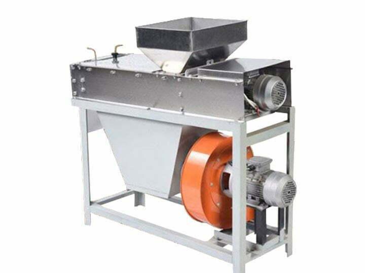 dry peanut peeling machine