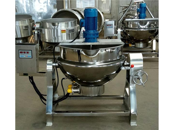 electrical jacketed kettle