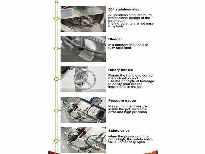 jacketed kettle details