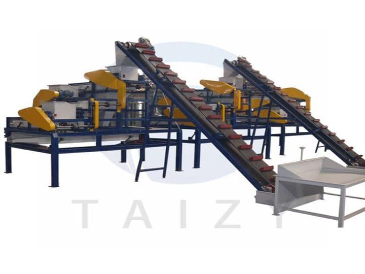 three-stage almond shelling machine