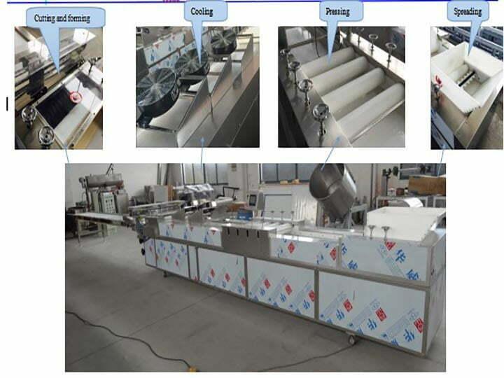 cereal bar molding machine structure details