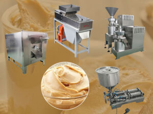small Peanut Butter Production line